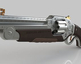 Concept Art Revolver 3D
