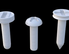 screwier 3D model Screws