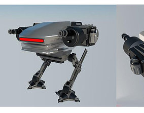 3D 2 Leg Walking Robot