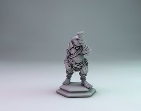 3D printable model Orc bard