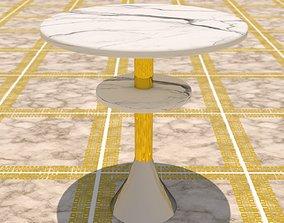 side table 3D asset VR / AR ready parlour