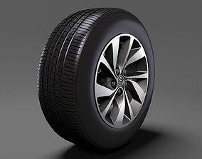 3D Citroen SpaceTourer 2017 wheel