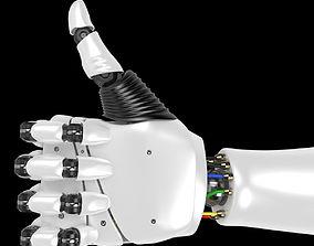 3D Robot Hand rigged