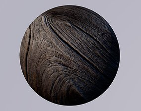 3D Texture - one texture wood