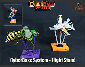 3D printable model Cyberbase System Flight Stand for