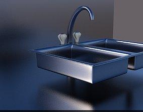 Sink for washing 3D printable model