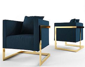 3D model modern chair model
