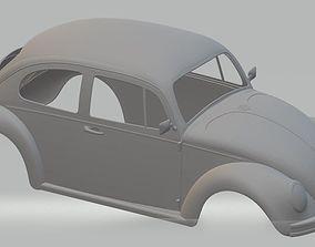 Volkswagen Beetle 1300 Printable Body Car