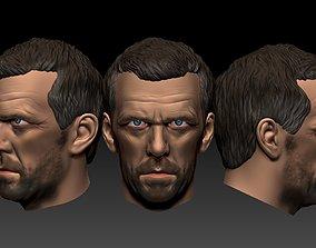 House MD -Hugh Laurie 3D printable model