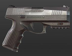 Modern Pistol 3D model