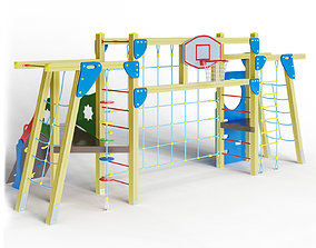 3D model Sports mini complex
