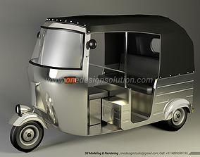 Indian Autorickshaw 3D