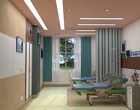 Hospital Room Interior 3D model interior