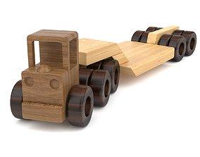 3D Wooden toy truck 23