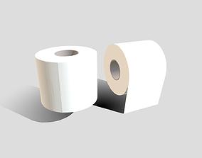 3D asset Toilet Paper