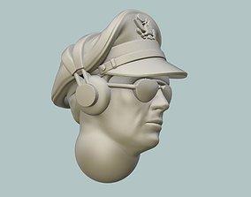 3D print model B-17 Pilot Head rc