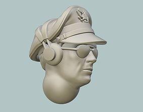 B-17 Pilot Head 3D print model usaf