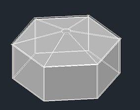 3D model Summerhouse for garden