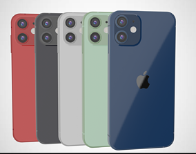 3D model Iphone 12 Mini