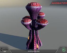 3D asset Alien flora - plant 09