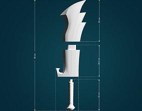 Nosferatu Zodds Sword from Berserk 3D printable model