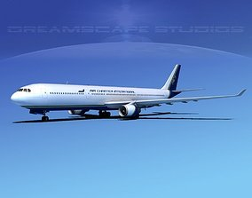 3D model Airbus A330-300 Air Charter Intl