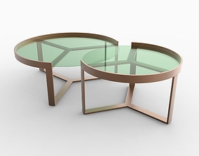 Aula Nesting Coffee Table 3D model