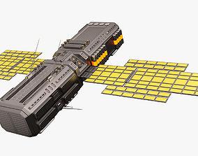 Sci Fi Satellite 04 3D model