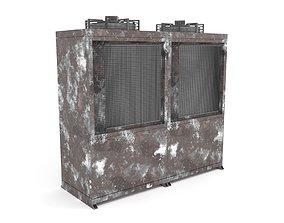 Rusty Unit Compressor Condensing 3D