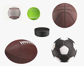 Sports Balls football 3D