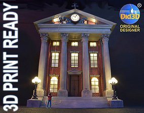 3D print model CourtHouse Back to the Future 1-45 Scale