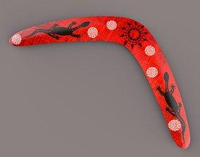 Boumerang 3D model