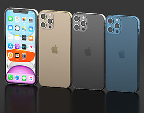 Iphone 12 Pro All colors 3D model