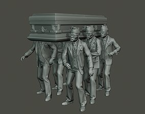 3D printable model Dancing coffin meme