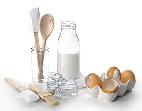 3D model Tableware Set by Dille and Kamille