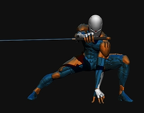 Gray Fox from Metal Gear Solid 3D model