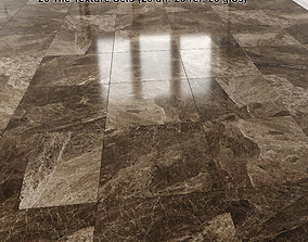 Brown Marble Tiles Pack 1 3D model