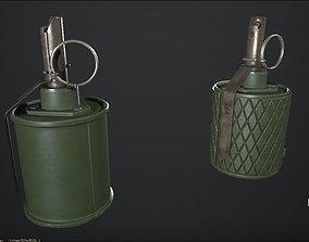 RG-42 - color variation - PBR -2k - FPS ready 3D asset
