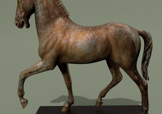 Horse Statuette X