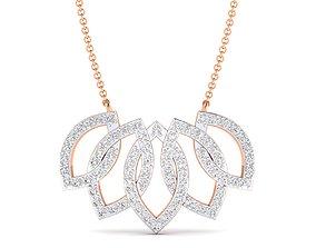 Women necklace pendant 3dm stl render detail pendants