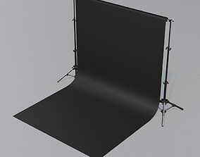 backdrop 3D model