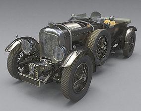 Bentley 4 5 litre Blower 1927 3d model PBR