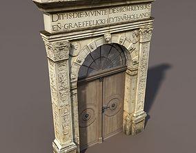 Door Portal Low Poly 79 3D