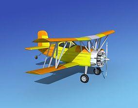 Grumman G-164 AgCat V04 3D model