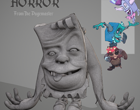 Horror from The Pagemaster Character Sculpt 3D Print 1