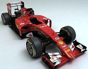 2015 Ferrari SF-15T 3D asset