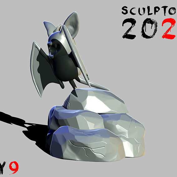 Sculptober Day 09 Wing