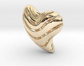 3D printable model Heart Lines Pendant