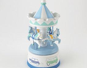 3D model Musical carousel Globe Trotter Amadeus