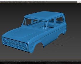 Ford Bronco 1974 Body for print 3D printable model